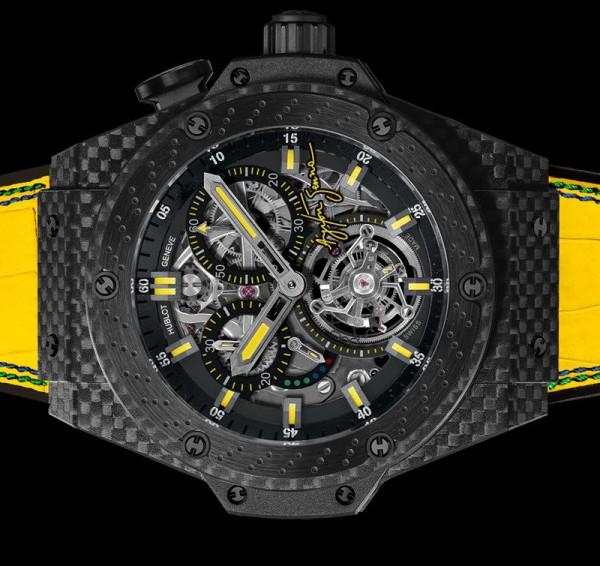 Hublot King Power Ayrton Senna Tourbillon Watch 3