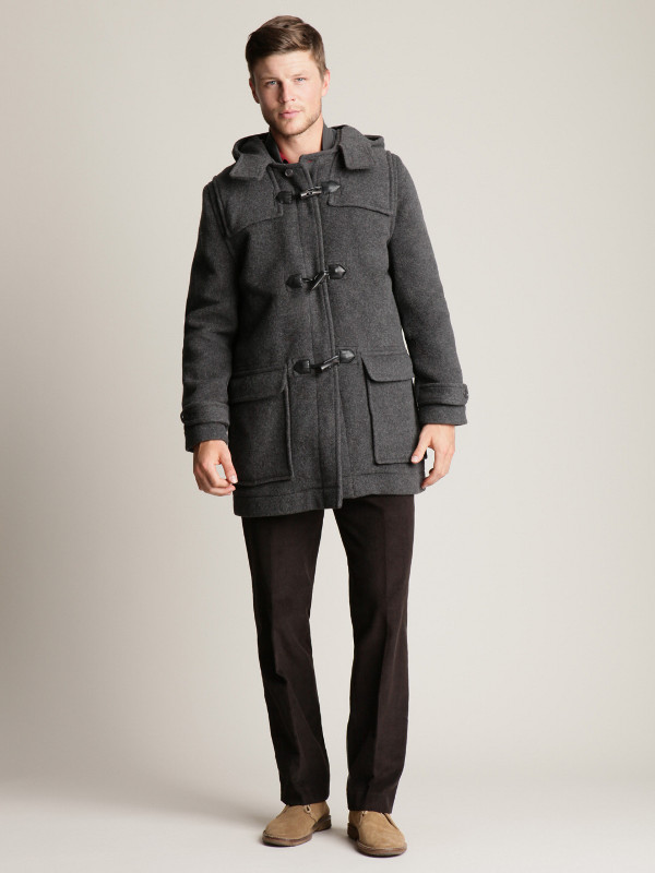 Jack Spade Wool Toggle Coat