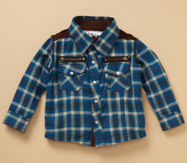 Kapital K Marshall Plaid Shirt