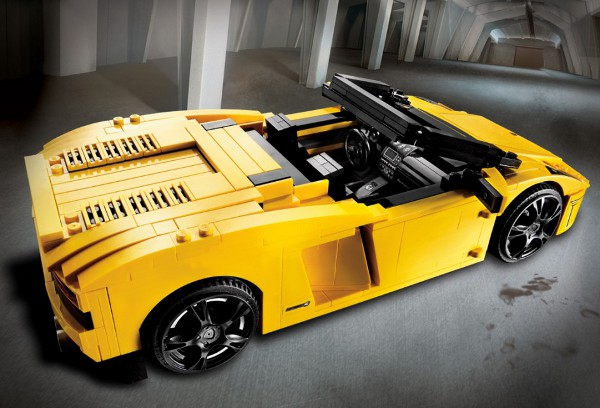 Lego Lamborghini Gallardo 2