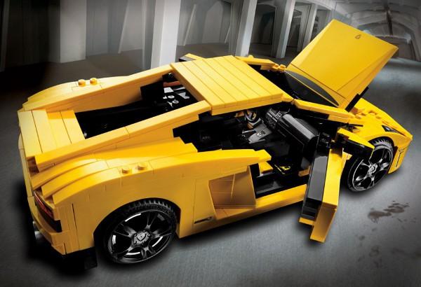 Lego Lamborghini Gallardo 4 Lego Lamborghini Gallardo