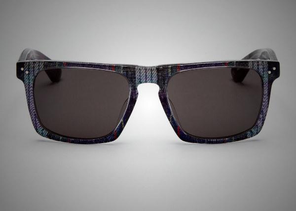 Mosley Tribes Lyndel Plaid Sunglasses
