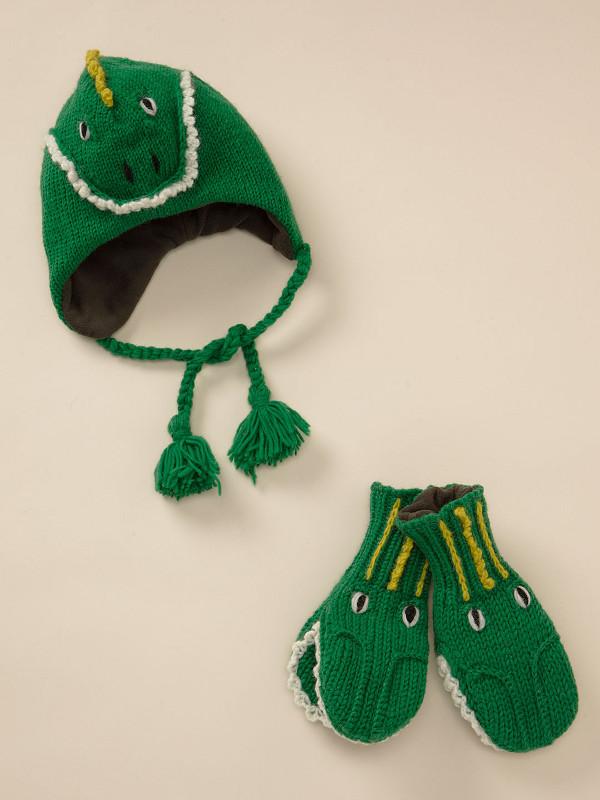 Nirvana Designs Lizard Hat and Mittens
