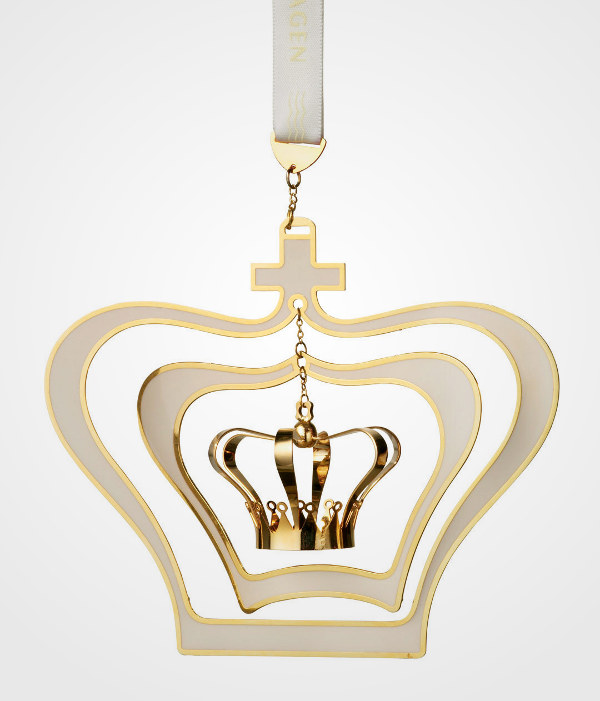 Royal Copenhagen Crown Mobile Ornament