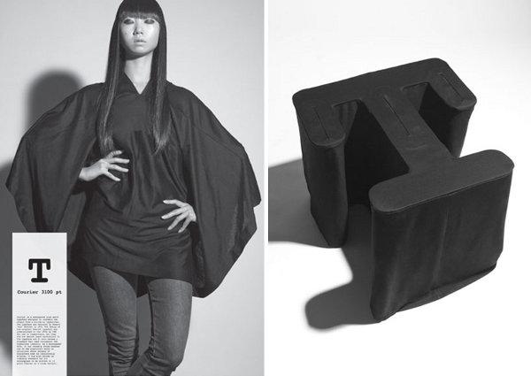 Typeface-T-shirts-by-Kawamura-and-Yonenaga-1