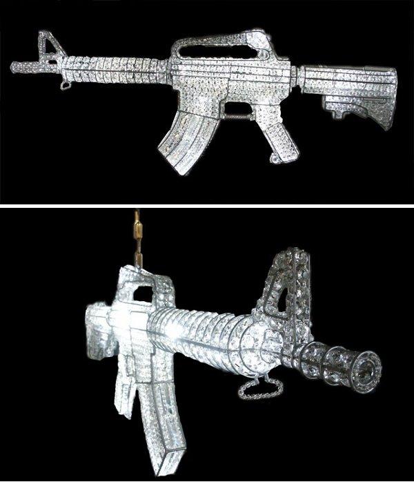 AK47 Chandelier
