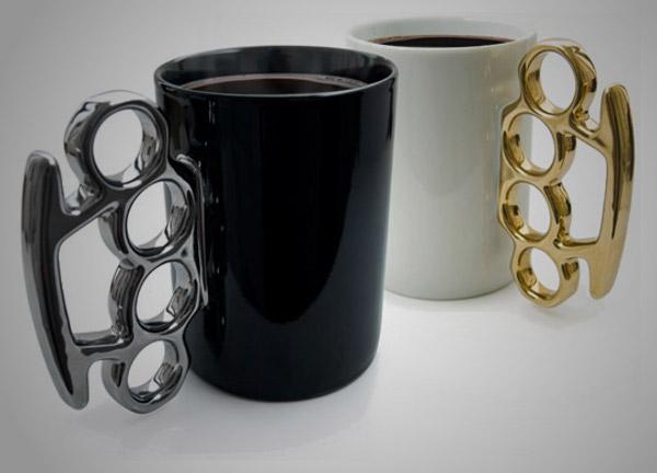 Brass Knuckles Mug 1