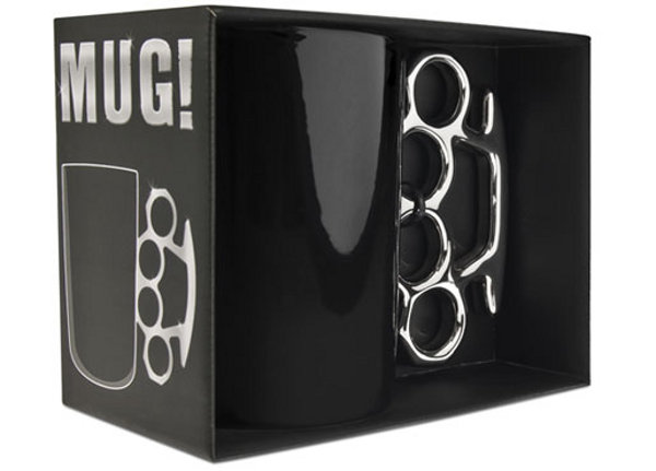 Brass Knuckles Mug 2