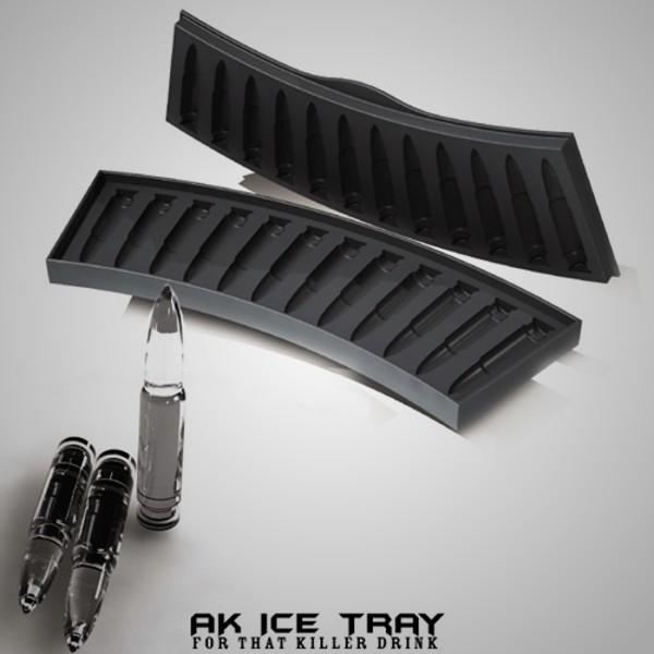 Bullet Ice Cube Tray 1
