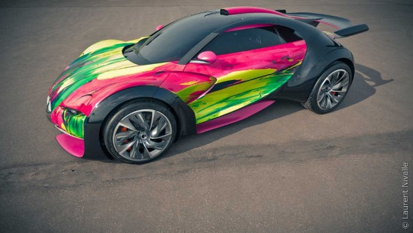 Citroen Survolt Art Car by Francoise Nielly 2 Autolust: The Top 10 Luxury Cars of 2010