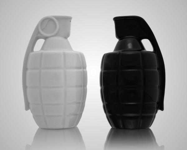 Grenade Salt Shakers 1