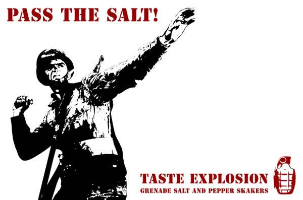 Grenade Salt Shakers 3