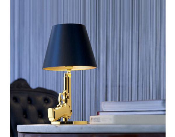 Phillipe Starck Bedside Gun Lamp 2