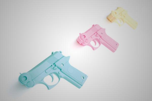 Pistol Coat Hooks 1