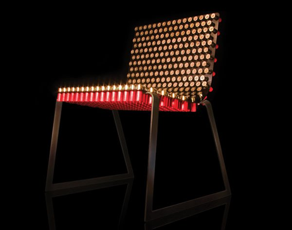Rehhab Fully Loaded Chair 1 Deadly Design: 20 Dangerous Weapon Inspired Designs