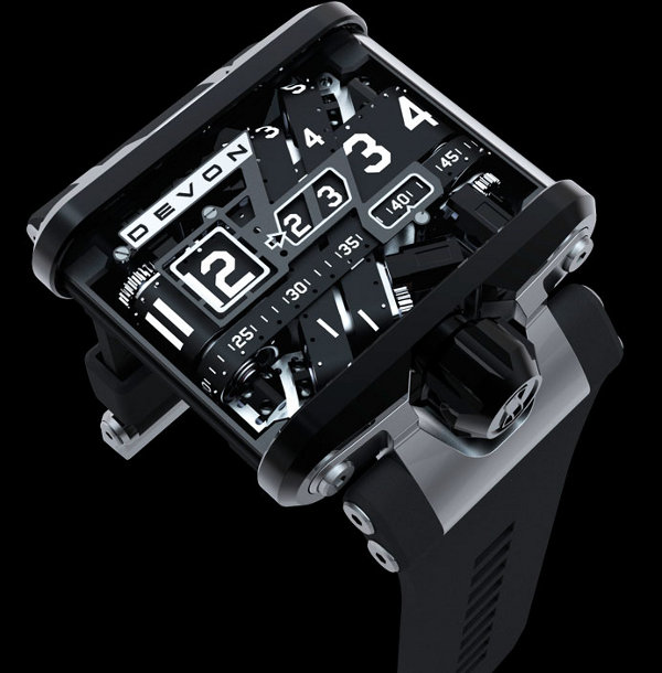 devon works tread 1 watch 1 Luxury Watchlust: The 10 Hottest Luxury Watches of 2010