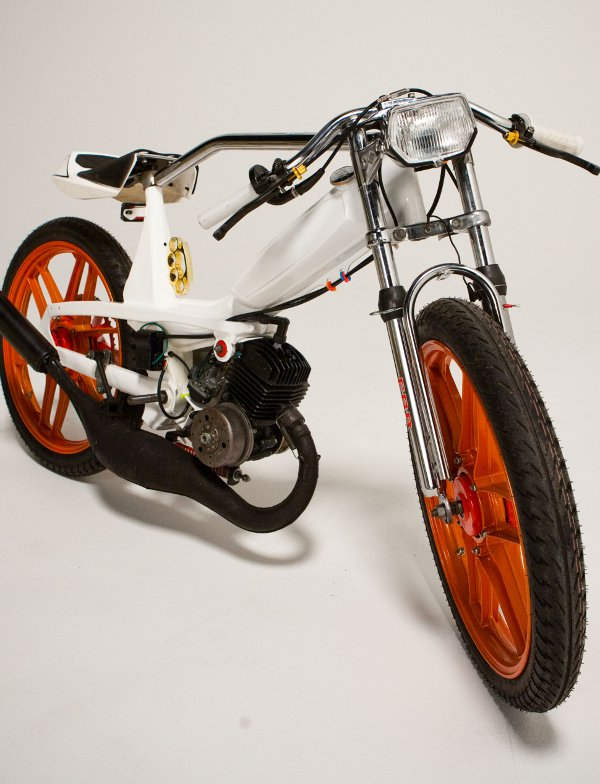 1978 Motobecane 40T 3 1978 Motobecane: Mean Custom Moped