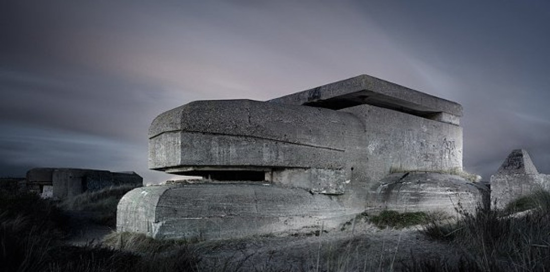 Abandoned WW2 Bunkers by Jonathan Andrew
