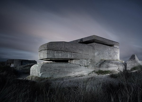 Abandoned WW2 Bunkers by Jonathan Andrew 9
