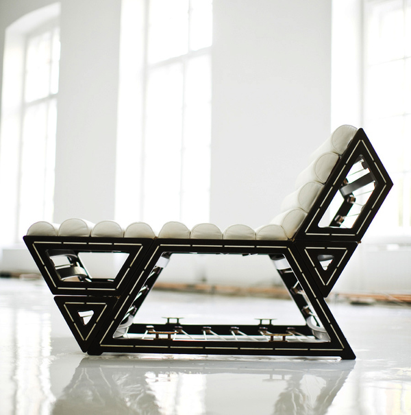 Modern Modular Lounge Chair by Balint Kormos 3 Modular Lounge Chair by Balint Kormos