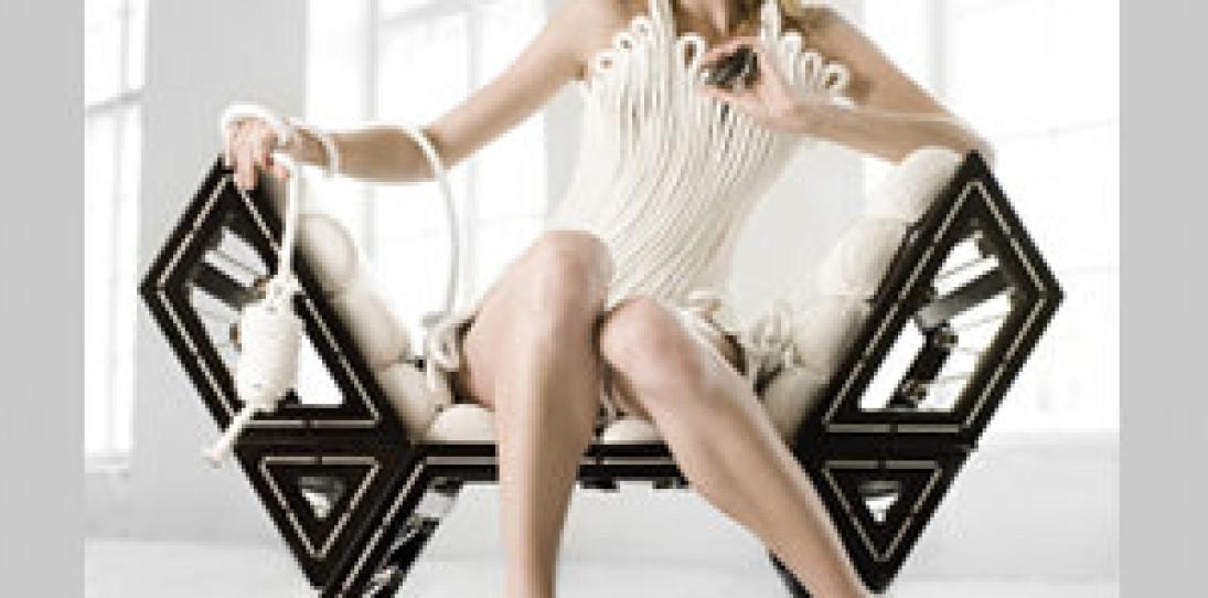 Modular Lounge Chair by Balint Kormos