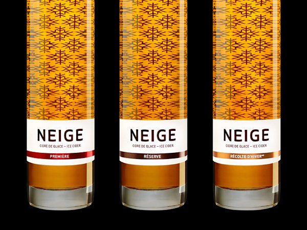 Neige Ice Cider Packaging 1