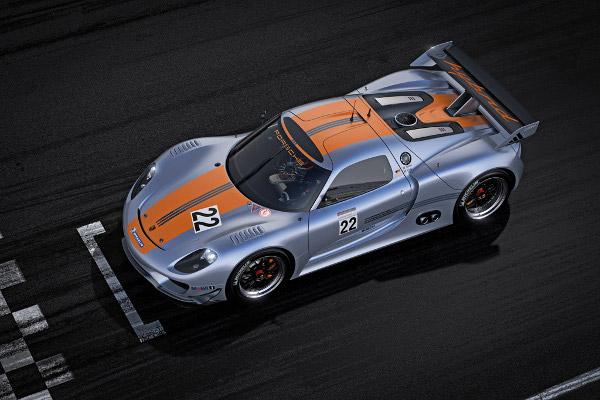 Porsche 918 RSR 1 Porsche 918 RSR