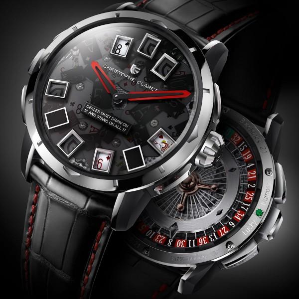 21 Blackjack Watch by Christopher Claret 1 21 Blackjack Watch by Christopher Claret