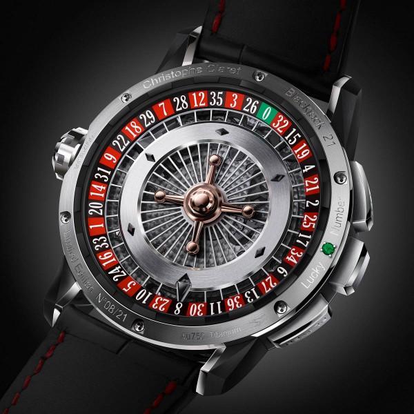 21 Blackjack Watch by Christopher Claret 2 21 Blackjack Watch by Christopher Claret