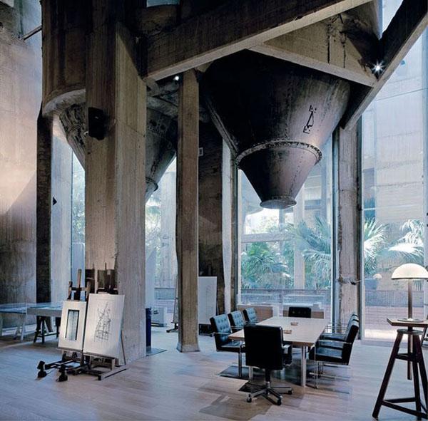 Ricardo Bofill Concrete Factory Home 6