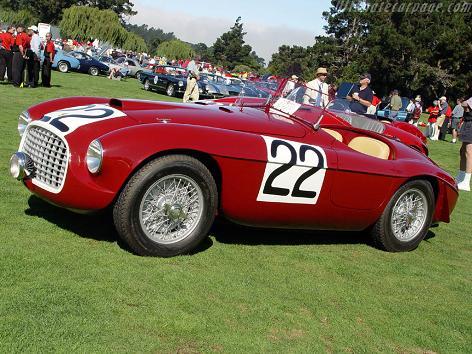1950 Ferrari 166MM Barchetta 3