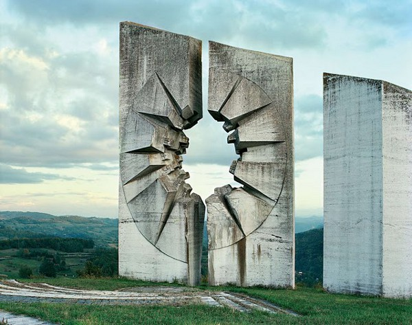 Abandoned Yugoslavian Monuments by Jan Kempenaers 10