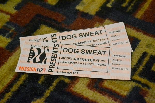 Dog Sweat Tickets