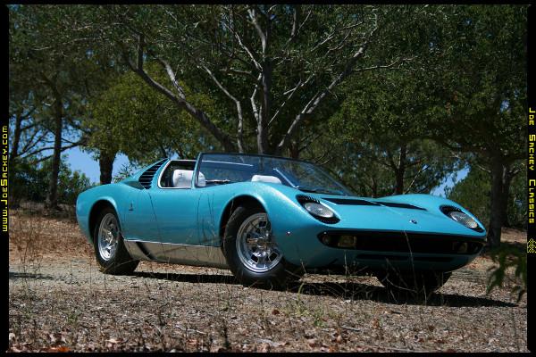 Lamborghini Miura Roadster Barn Find 2
