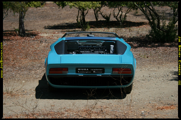 Lamborghini Miura Roadster Barn Find 4