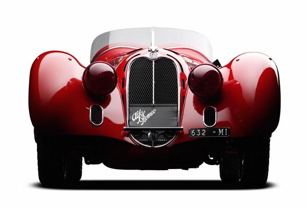 Ralph Lauren Alfa Romeo 8C 2900 Mille Miglia Ralph Lauren Car Collection Exhibit