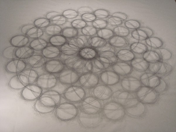 Tony Orrico Performance Drawing 2