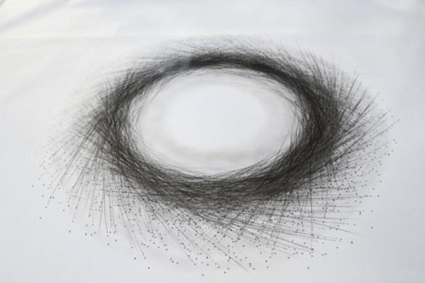 Tony Orrico Performance Drawing 9