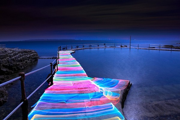 David Gilliver Light Painting 8