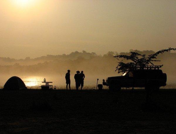 Riverside Camping by anuradha