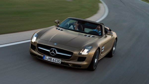 2012 Mercedes Benz SLS AMG Roadster 6 2012 Mercedes Benz SLS AMG Roadster