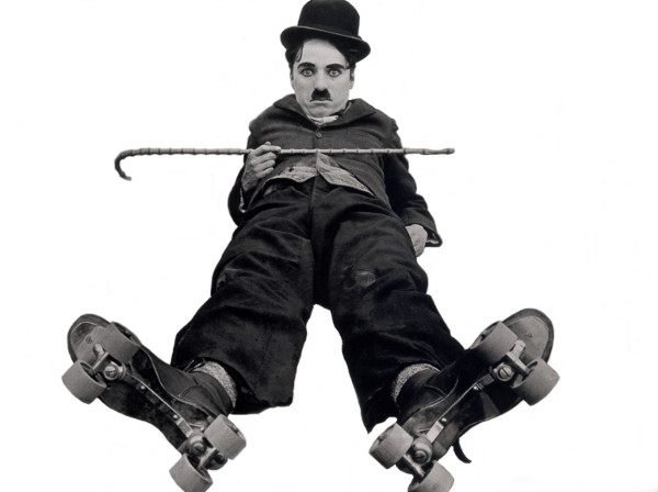 Charlie Chaplin Bowler Hat