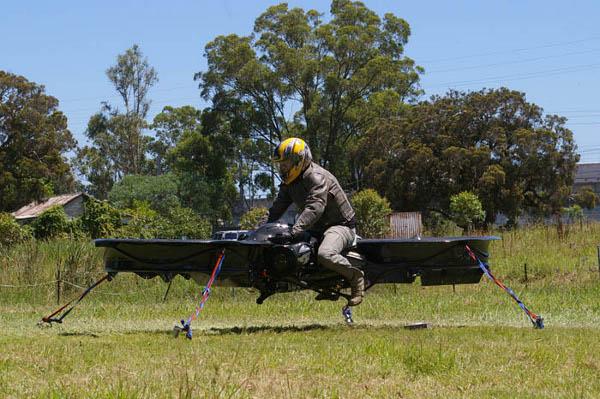 Hoverbike Flying Machine 2
