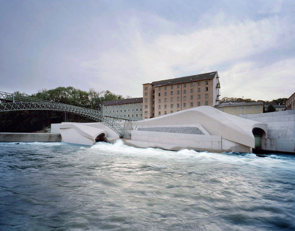 Hydroelectric Power Station by Becker Architecture 4 Hydroelectric Power Station by Becker Architecture