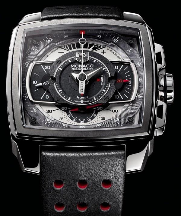 Tag Heuer Monaco Mikrograph Watch 2