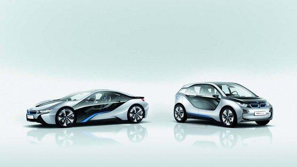 BMW i3 and i8 electric vehicles 1