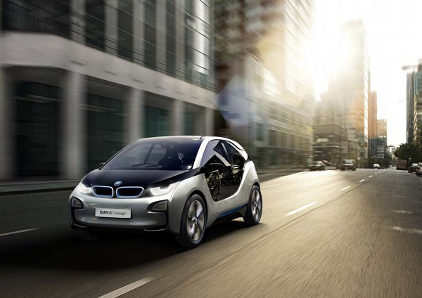 BMW i3 and i8 electric vehicles 3