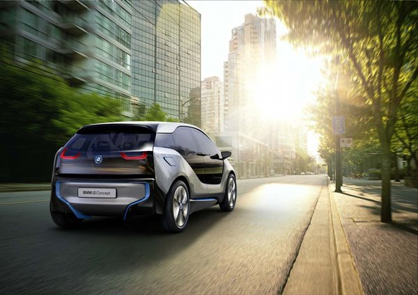 BMW i3 and i8 electric vehicles 4