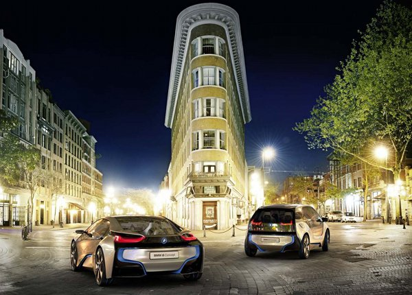 BMW i3 and i8 electric vehicles 5