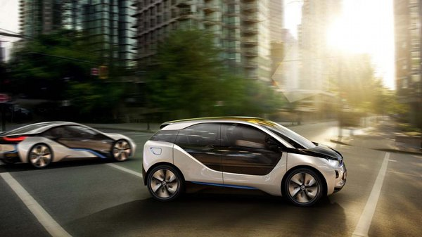 BMW i3 and i8 electric vehicles 6